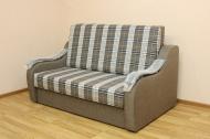 Адель 1.4, диван в ткани шотладния кофе