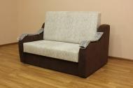 Адель 1,2 диван в ткани сиена 1 и однотон- uuu