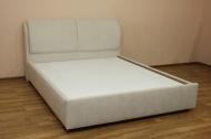 Афина 160 кровать в ткани меланж боне - 1