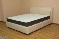 Афина, кровать в ткани стоун перл роуз