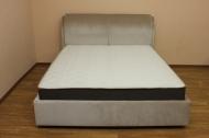 Афина, кровать в ткани котнесс 323 беж