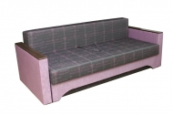 Алекс 1,4, диван в ткани студио лилак и бронкс лилак