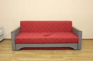 Алекс 1,6 диван в ткани шенил геометрия бордо и однотон