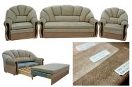 Комплект диван і два крісла Аліса