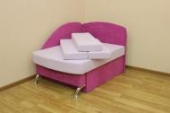 Антошка, диван в ткани астровей лилак и аставелюр 11009