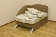 Антошка, диван в ткани мозаика 472 и уни 03