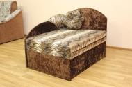 Анюта, диван в ткани лео 34 и нагайа браун