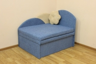 Анюта, диван в ткани мозайка 978 и монтана милк