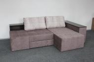 Бруклин, угловой диван в ткани кортекс ява и кортекс беж