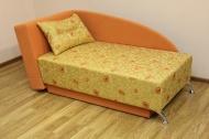 Денди, диван в ткани дилек 110-1 и элиша 21
