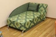 Денди, диван в ткани кафу д102-331 и однотон
