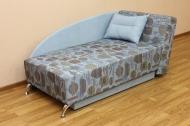 Денди, диван в ткани катони джинс и однотон -1