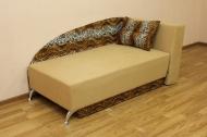 Денди, диван в ткани лео 42 и элиша 07