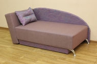 Денди, диван в ткани циклон мульти и однотон- 1