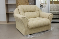 Диана, кресло в ткани альфа карамель