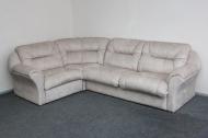 Диана, угловой диван в ткани альберта беж