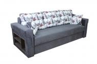 Дуэт , диван в ткани бридж и софтинес ковиар