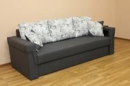 Дуэт диван в ткани эрика грей и однотон