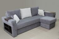 Дуэт, угловой диван в ткани билайт и берлин дк грей
