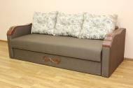 Этюд диван в ткани альберта кофе 01 и этна 08 - 2
