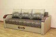 Этюд, диван в ткани мона 02 и линен голд