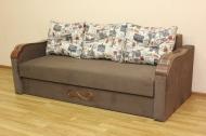 Этюд, диван в ткани принт 002 и амор 30 -ПОД ЗАКАЗ В ТЕЧЕНИИ 3-Х НЕДЕЛЬ-