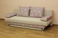 Форсаж, диван в ткани джесика лилак и херера санд