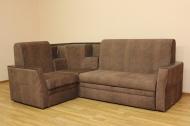 Ирен, угловой диван в ткани альберта браун