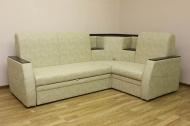 Ирен, угловой диван в ткани альфа карамель