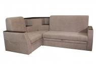 Ирен, угловой диван в ткани мисти лт браун