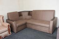Ирен, угловй диван в ткани амели лт браун