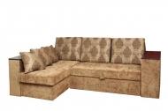 Карен, угловой диван в ткани ивари браун и розалинда 239