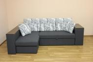 Карен, угловой диван в ткани шанель вайт и дс 44