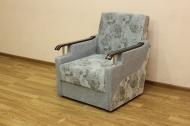 Книжка Д, кресло в ткани альмера 02 и перл грей - 1