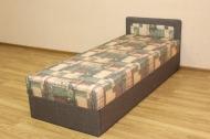 Кровать 08 блок в ткани шанхай и люкс 19