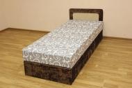 Кровать 80 блок в ткани астравей карамель и нагойя шоко