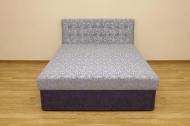 Белла, кровать в ткани минессота сирень