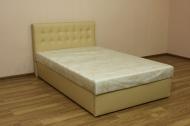 Белла 120, кровать в ткани браска беж