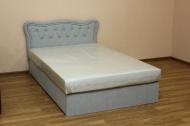Ева 120, кровать в ткани альфа грей