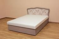 Ева 140, кровать в ткани жаклин роуз и однотон - 2 - 1 шт .JPG
