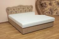 Ева 160, кровать в ткани тиволи 02 и баскет 02 - 1