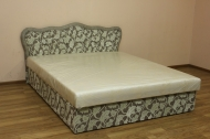 Кровать Ева 1,4 в ткани спринг мокко