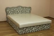 Кровать Ева 1,2 в ткани спринг мокко