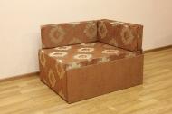 Кубик, диван в ткани кафу д 102-248 и однотон
