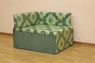 Кубик, диван в ткани кафу д102-331 и однотон