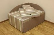 Кубик диван в ткани реолта 07 и однотон