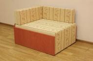 Кубик, диван в ткани юпитер 110111 и однотон