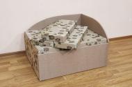 Кубик в ткани гармония 01 и сидней 03