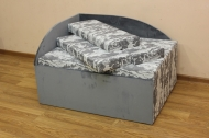 Кубик в ткани ньюфарм 1502 альмиро 22