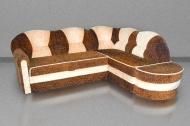 Лагуна, угловой диван в ткани Томас 97 + 12 - ПОД ЗАКАЗ В ТЕЧЕНИИ 3-Х НЕДЕЛЬ